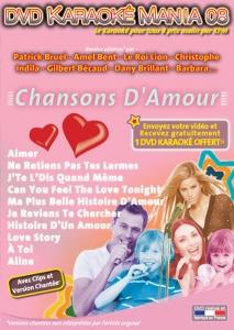 DVD KARAOKE MANIA VOL. 08 ''Chansons D'Amour'' (All)
