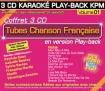 Coffret 3 CD KARAOKÉ PLAY-BACK KPM ''Tubes Chanson Française Vol.01''
