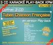 Coffret 3 CD KARAOKÉ PLAY-BACK KPM ''Tubes Chanson Française Vol.02''