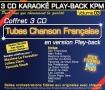 Coffret 3 CD KARAOKÉ PLAY-BACK KPM ''Tubes Chanson Française Vol.03''