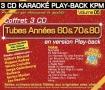 Coffret 3 CD KARAOKÉ PLAY-BACK KPM ''Tubes Chanson Française Vol.05''