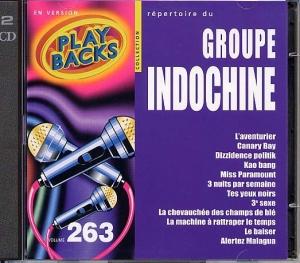 CD PLAY BACK INDOCHINE (avec choeurs)