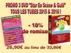 PROMO 3 DVD ''Stars En Scène & Gulli'' TOUS LES TUBES 2015 & 2016 !