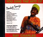 CD(G) PLAY BACK POCKET SONGS HITS OF RAY CHARLES (livret paroles inclus)