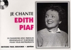 LIVRET PAROLES  EDITH PIAF (avec accords)