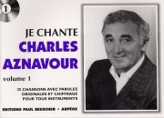 LIVRET PAROLES CHARLES AZNAVOUR VOL.01 (avec accords)