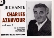 LIVRET PAROLES CHARLES AZNAVOUR VOL.02 (avec accords)