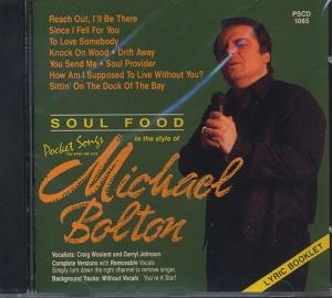 CD PLAY BACK POCKET SONGS HITS OF MICHAEL BOLTON VOL.01 (livret paroles inclus)