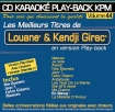 CD KARAOKE PLAY-BACK KPM VOL. 44 ''Louane & Kendji Girac''
