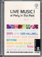 DVD CONCERT TDK LIVE MUSIC AT PARTY IN THE PARK 1999 (All)