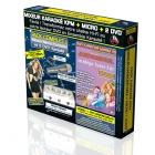PACK COMPLET KARAOKE KPM MIXEUR + 2 DVD* + MICRO - Méga Tubes 3