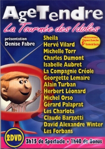 DOUBLE DVD ÂGE TENDRE ''2010''