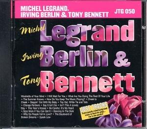 CD PLAY BACK POCKET SONGS MICHEL LEGRAND & IRVING BERLIN & TONY BENNETT (livret paroles inclus)