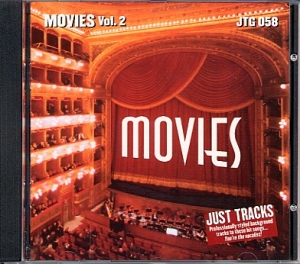 CD(G) PLAY BACK POCKET SONGS LET'S GO TO THE MOVIES VOL.02 (livret paroles inclus)
