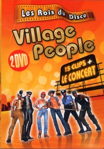 DOUBLE DVD VILLAGE PEOPLE ''LES ROIS DU DISCO'' CLIPS + CONCERT