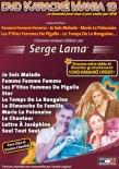 DVD KARAOKE MANIA VOL. 10 ''Serge Lama'' (All)