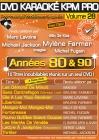 DVD KARAOKE KPM PRO VOL. 28 ''Années 80 & 90'' (All)