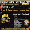 Coffret 3 CD Karaoké Play-Back KPM ''Les Tubes Incontournables''