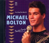 CD PLAY BACK POCKET SONGS HITS OF MICHAEL BOLTON VOL.02 (livret paroles inclus)