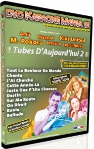 DVD KARAOKE MANIA VOL. 12 ''Tubes d'Aujourd'hui 2'' (All)