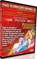 DVD KARAOKE MANIA VOL. 13 ''Dalida''