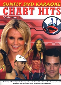 DVD KARAOKE SUNFLY VOL.01 ''Chart Hits''