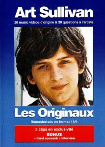 DVD ART SULLIVAN ''Les Originaux Remastérisés'' (Inclus 1 Livret Souvenir)