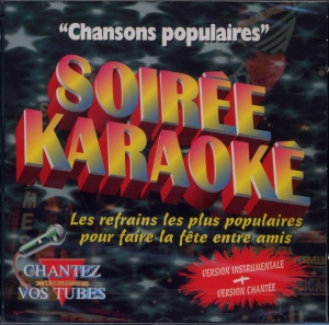 CD PLAY BACK SONY ''Chansons Populaires''