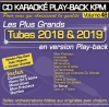 CD KARAOKE PLAY-BACK KPM VOL. 48 ''Tubes 2018 & 2019''