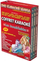 COFFRET 3 DVD KARAOKE MANIA ''Les Inoubliables''