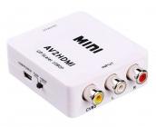 Adaptateur RCA vers HDMI  HD1080p (Alimentation USB) + Câble HDMI/HDMI 1,5m
