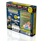 PACK COMPLET KARAOKE KPM MIXEUR + 2 DVD* + MICRO + ADAPTATEUR RCA/HDMI + CABLE HDMI/HDMI 1,5m - Tubes D'Aujourd'hui 2