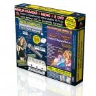 PACK COMPLET KARAOKE KPM MIXEUR + 2 DVD* + MICRO + ADAPTATEUR RCA/HDMI + CABLE HDMI/HDMI 1,5m - Tubes D'Aujourd'hui 3