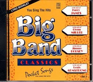 CD PLAY BACK POCKET SONGS BIG BANG CLASSICS VOL.02 (livret paroles inclus)