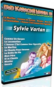 DVD KARAOKE MANIA VOL. 18 ''Sylvie Vartan''