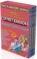 COFFRET 3 DVD KARAOKE MANIA ''Johnny & Sylvie & Cloclo''