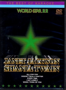 DVD WORLD STAR VOL.22 ''Janet Jackson & Shania Twain'' (All)