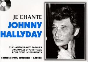 LIVRET PAROLES JE CHANTE JOHNNY HALLYDAY VOL.01 (avec accords)