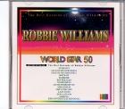 VidéoCD WORLD STAR VOL.50 ROBBIE WILLIAMS