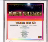 VidéoCD WORLD STAR VOL.50 ROBBIE WILLIAMS