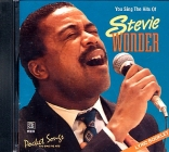 CD PLAY BACK POCKET SONGS HITS OF STEVIE WONDER (livret paroles inclus)