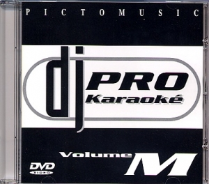 DVD PICTO MUSIC DJ PRO KARAOKE VOL.M (All)