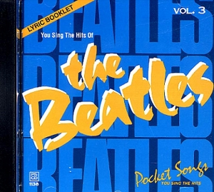 CD PLAY BACK POCKET SONGS HITS OF THE BEATLES VOL.03 (livret paroles inclus)