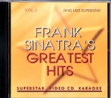 VidéoCD SUPERSTAR FRANK SINATRA VOL.01