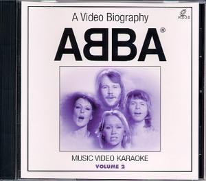 VidéoCD ORIGINAL ARTIST ABBA VOL.02 (orchestrations et clips originaux) (All)