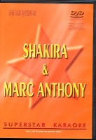 DVD SUPERSTAR SHAKIRA/MARC ANTHONY (All)