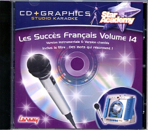 CD(G) KARAOKE LANSAY VOL.14 'STAR ACADEMY'