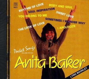 CD PLAY BACK POCKET SONGS HITS OF ANITA BAKER VOL.02 (livret paroles inclus)