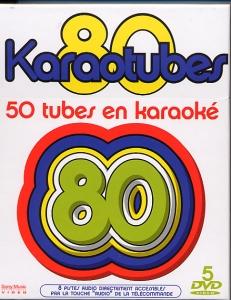 COFFRET KARAOKE 5 DVD ''KARAOTUBES ANNEES 80''