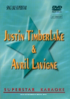 DVD SUPERSTAR AVRIL LAVIGNE & JUSTIN TIMBERLAKE (All)
